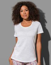 Organic Slub Crew Neck for women