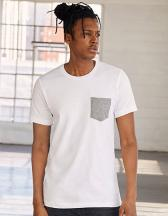 Men`s Jersey Short Sleeve Pocket Tee