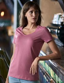 Womens Luxury V-Neck Tee