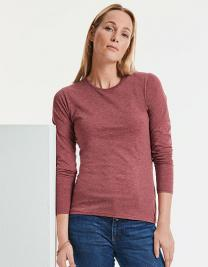 Ladies` Long Sleeve HD T