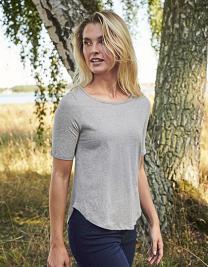 Ladies` Half Sleeve T-Shirt